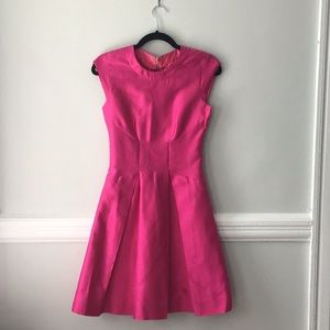 Kate Spade hot pink cocktail dress